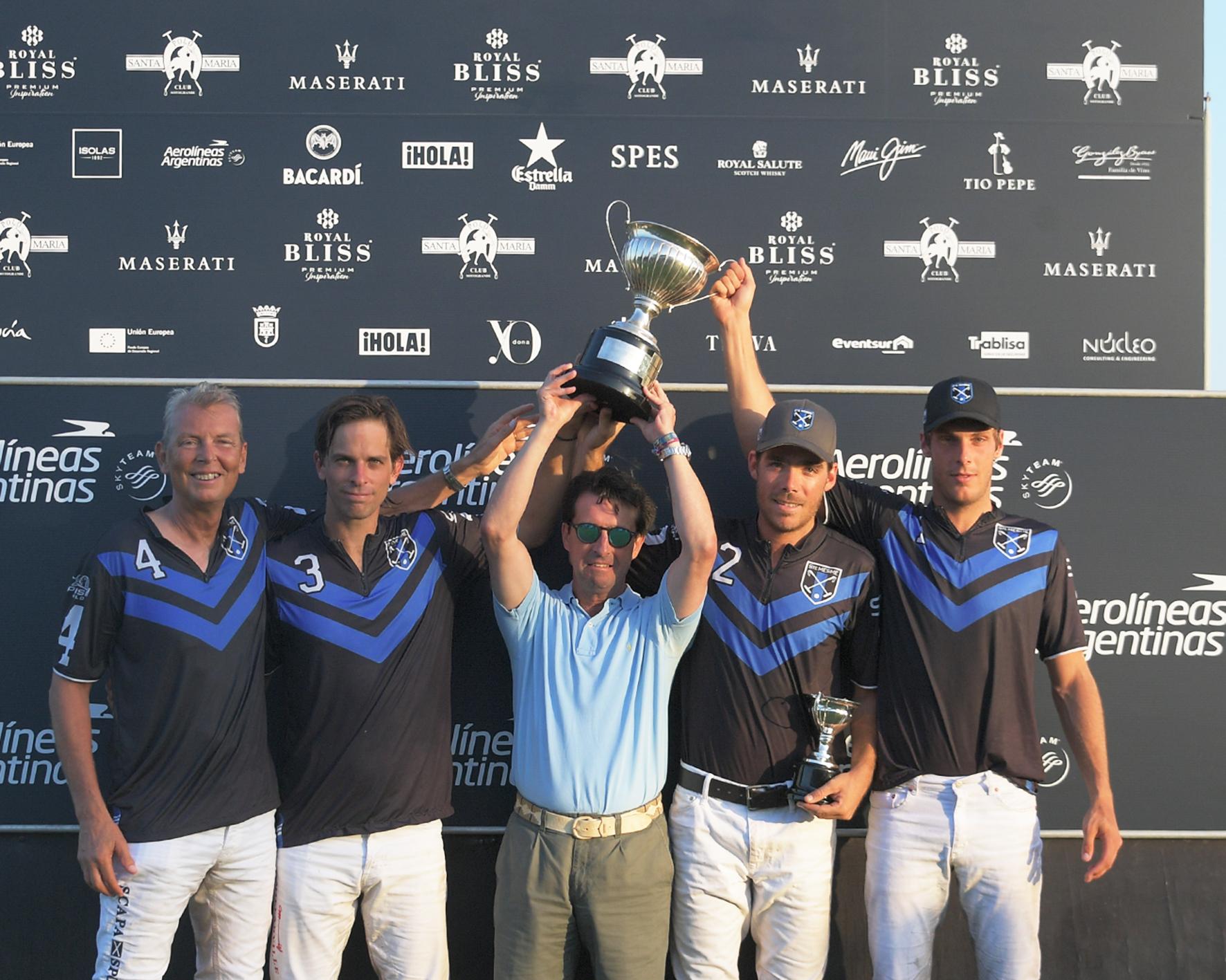 Sainte Mesme ganador Copa de Bronce Aerolíneas Argentinas bajo hp