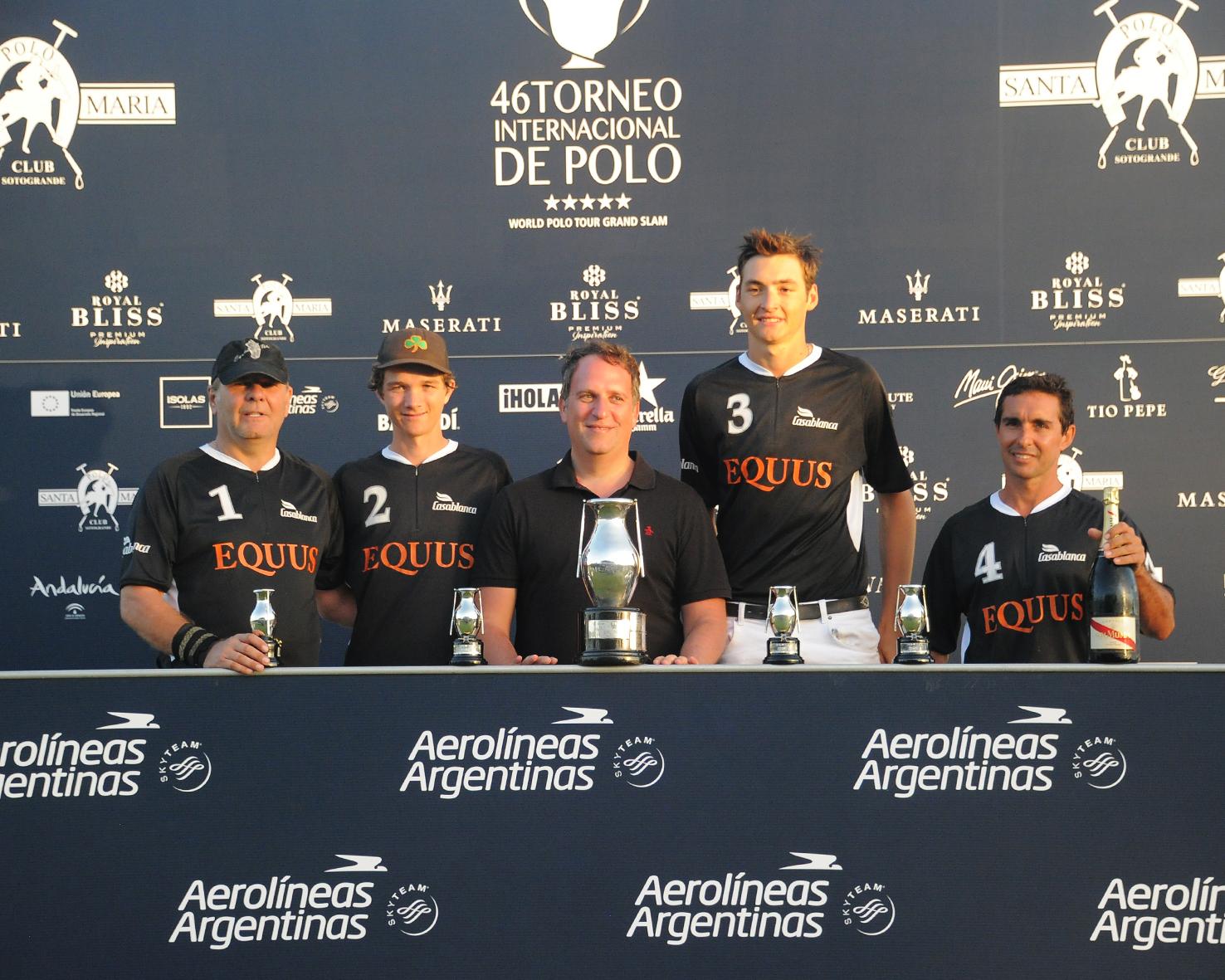equus ganador de la copa de plata aerolineas argentinas